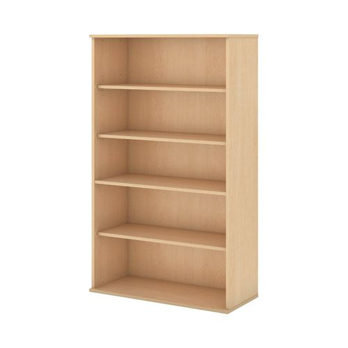 BUSH BUSINESS FURNITURE 66H 5 SHELF BOOKCASE. FREE SHIPPING.  SALE DEDUCT 10% MORE ENTER '10percent' IN COUPON CODE BOX WHILE CHECKING OUT.