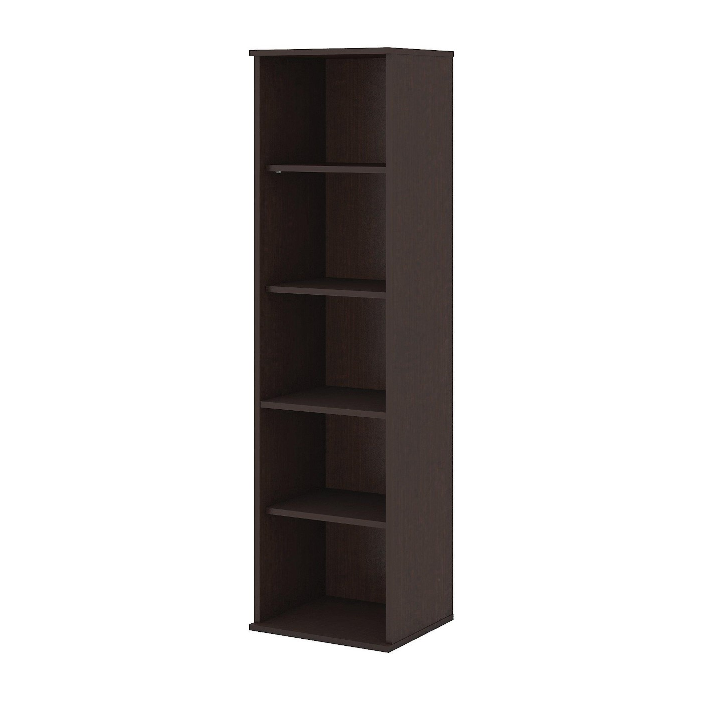 <font color=#c60><b>BUSH BUSINESS FURNITURE 66H 5 SHELF NARROW BOOKCASE. FREE SHIPPING</font></b></font></b>