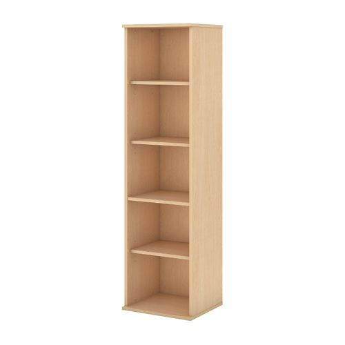 BUSH BUSINESS FURNITURE 66H 5 SHELF NARROW BOOKCASE. FREE SHIPPING.  SALE DEDUCT 10% MORE ENTER '10percent' IN COUPON CODE BOX WHILE CHECKING OUT.