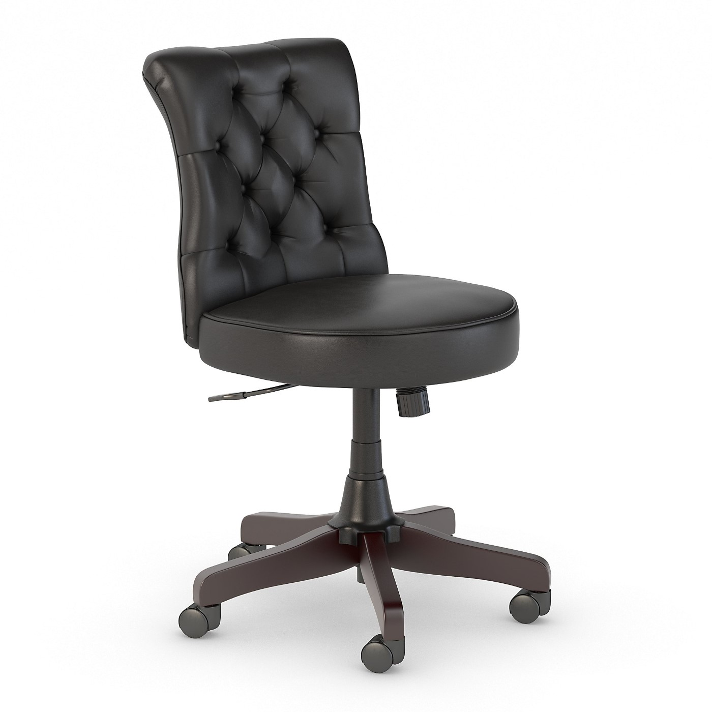 <font color=#c60><b>BUSH BUSINESS FURNITURE ARDEN LANE MID BACK TUFTED OFFICE CHAIR. FREE SHIPPING 30H x 72L x 72W</font></b>
