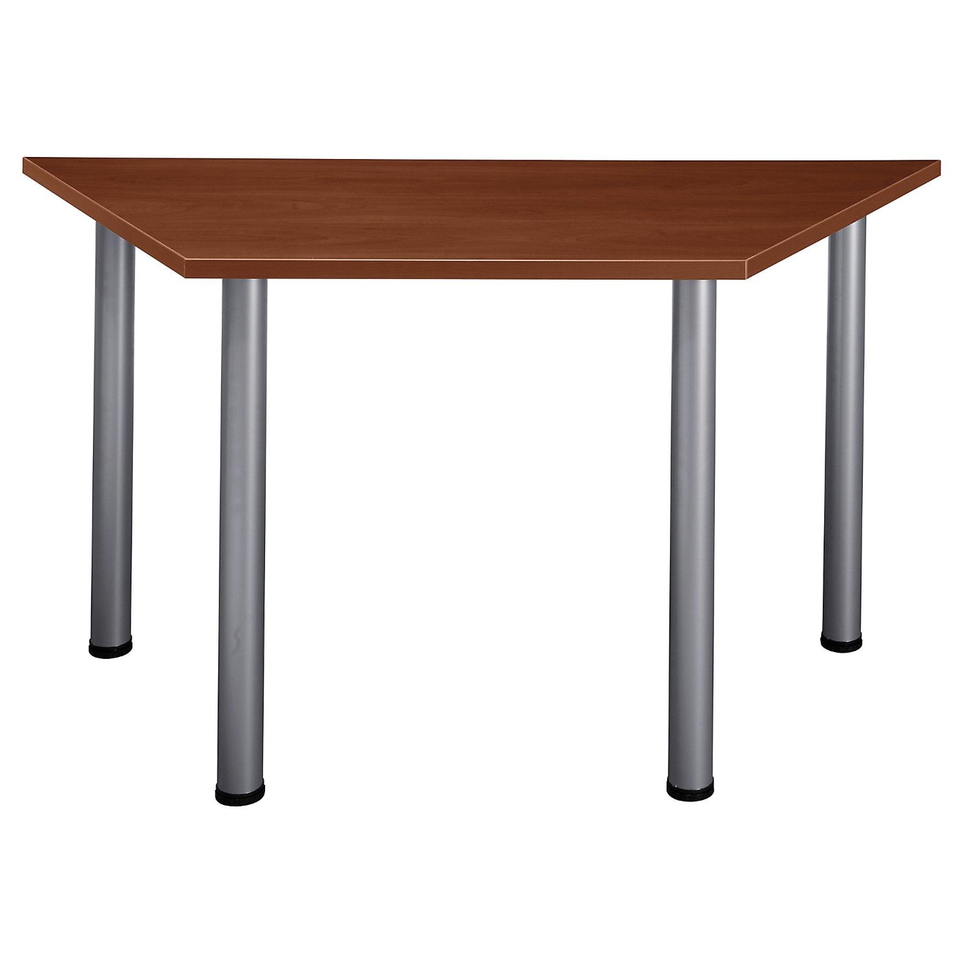 BUSH BUSINESS FURNITURE ASPEN 57W X 25D TRAPEZOID TABLE. FREE SHIPPING.