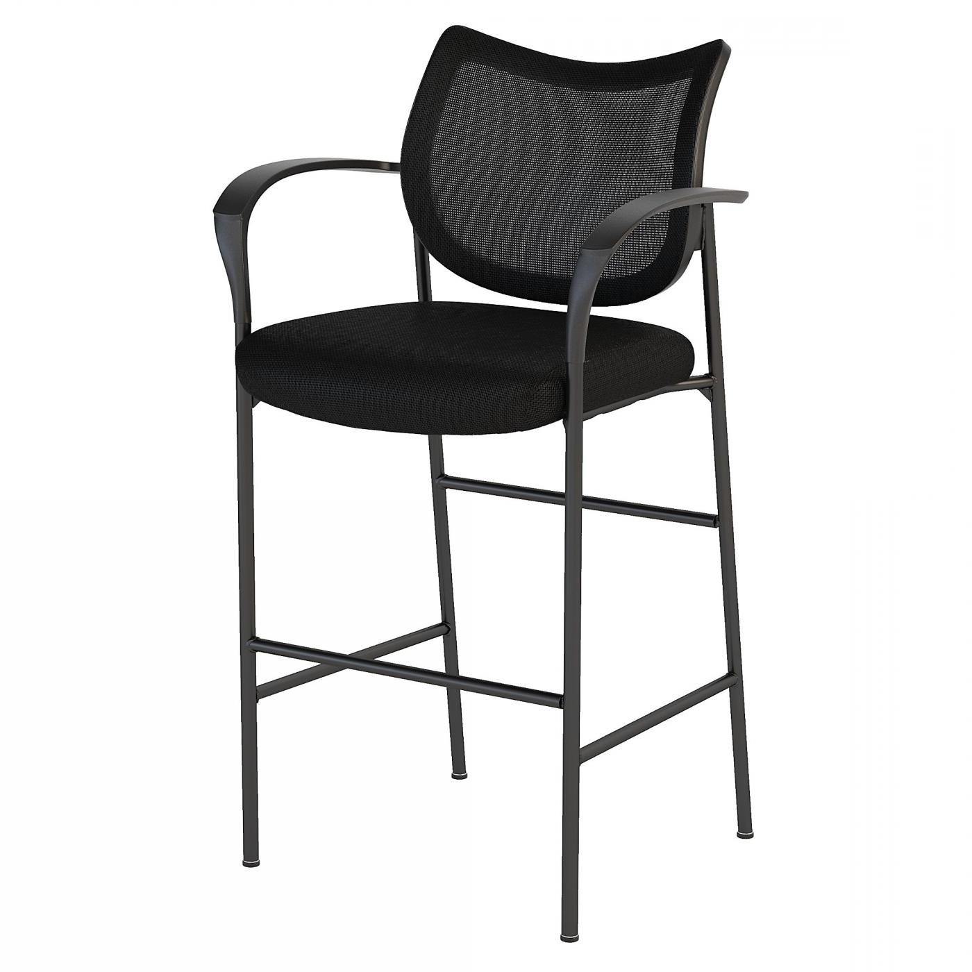 </b></font><b>BUSH BUSINESS FURNITURE CORPORATE MESH BACK STANDING DESK STOOL. FREE SHIPPING</font>. </b></font></b>