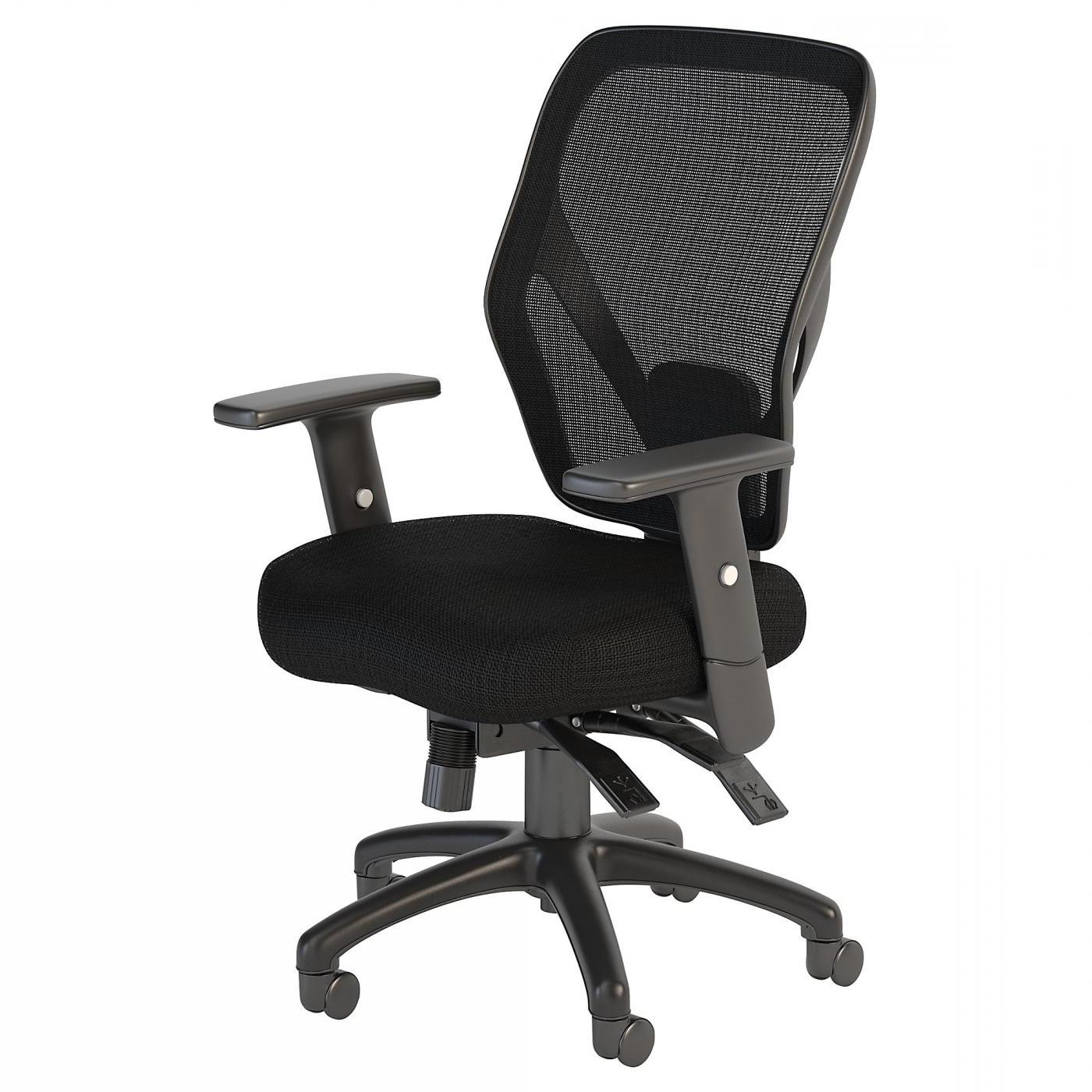 <font color=#c60><b>BUSH BUSINESS FURNITURE CORPORATE MID BACK MULTIFUNCTION MESH OFFICE CHAIR. FREE SHIPPING</font></b> </font></b>