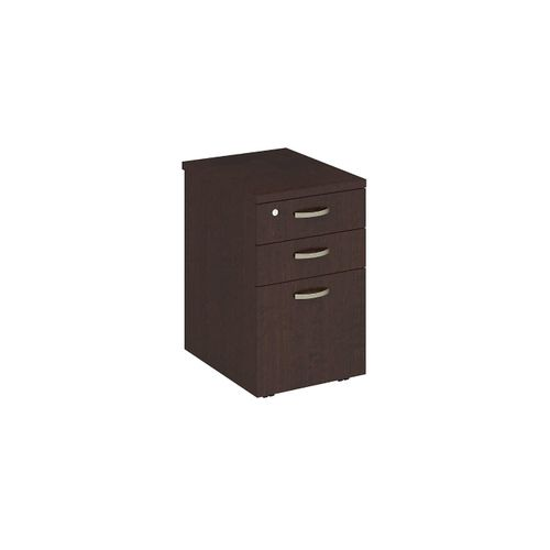 BUSH BUSINESS FURNITURE EASY OFFICE 16W MOBILE FILE CABINET. FREE SHIPPING  VIDEO BELOW.
