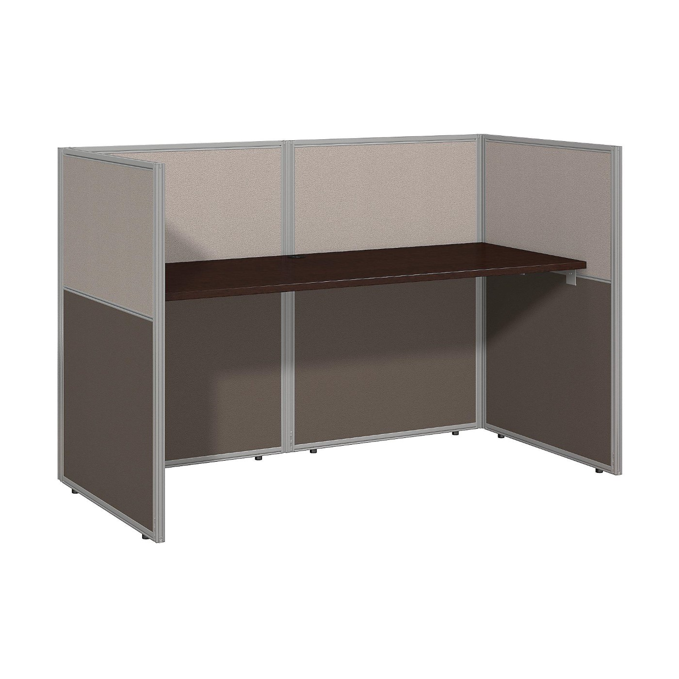 <font color=#c60><b>BUSH BUSINESS FURNITURE EASY OFFICE 60W STRAIGHT DESK CLOSED OFFICE. FREE SHIPPING</font></b>