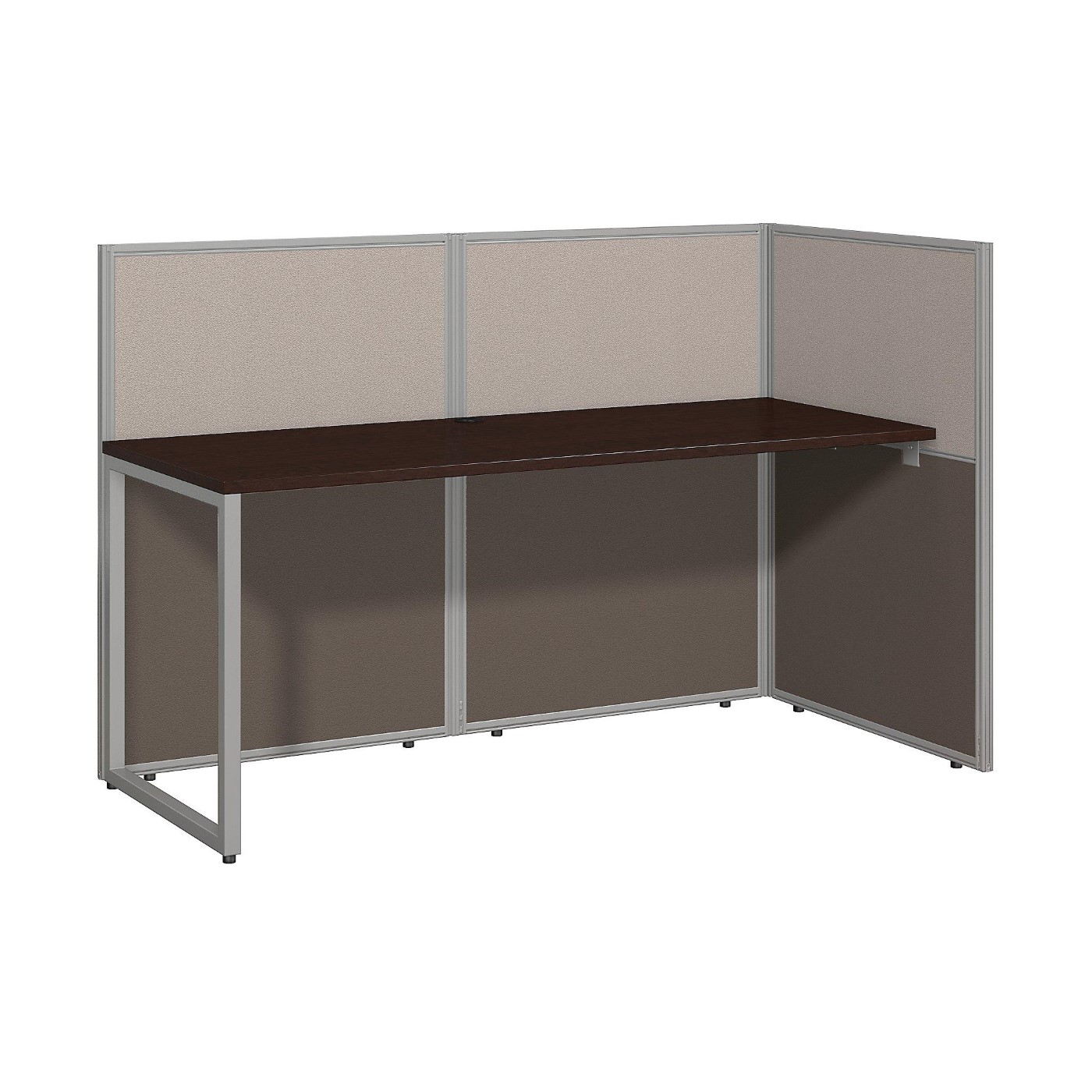 BUSH BUSINESS FURNITURE EASY OFFICE 60W STRAIGHT DESK OPEN OFFICE. FREE SHIPPING  VIDEO BELOW.  SALE DEDUCT 10% MORE ENTER '10percent' IN COUPON CODE BOX WHILE CHECKING OUT. ENDS 5-31-20.