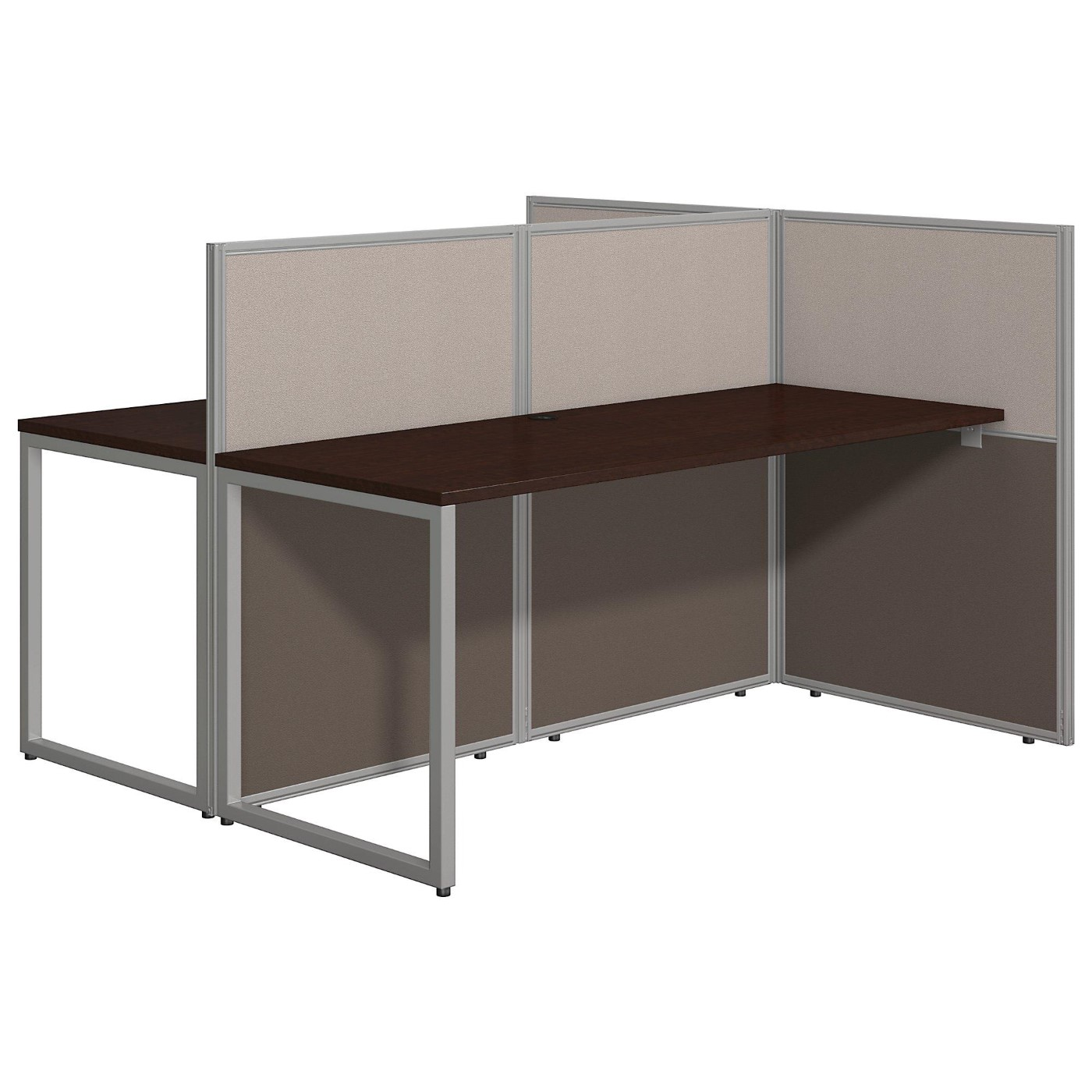 <font color=#c60><b>BUSH BUSINESS FURNITURE EASY OFFICE 60W TWO PERSON STRAIGHT DESK OPEN OFFICE. FREE SHIPPING</font></b>