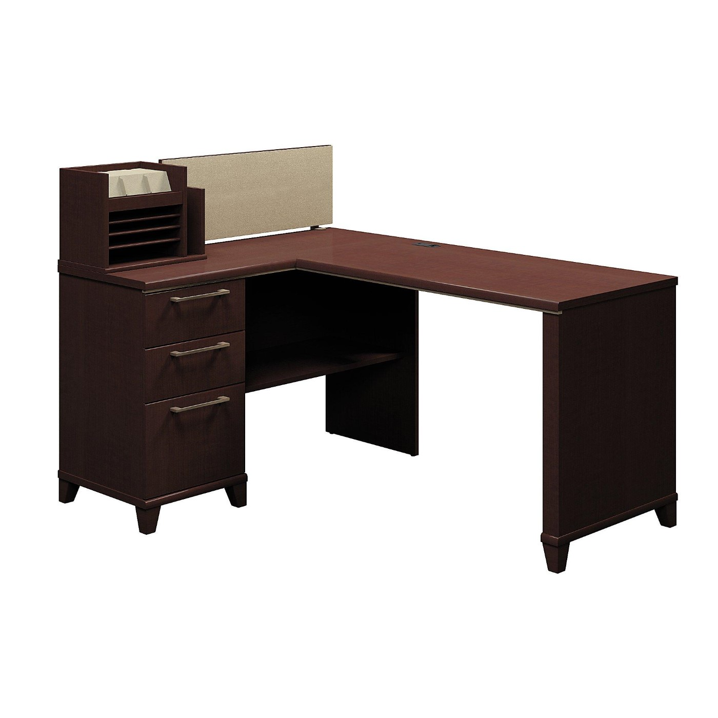 BUSH BUSINESS FURNITURE ENTERPRISE 60W X 47D CORNER DESK. FREE SHIPPING</font></b></font>&#x1F384<font color=red><b>ERGONOMICHOME HOLIDAY SALE - ENDS DEC. 17, 2019</b></font>&#x1F384
