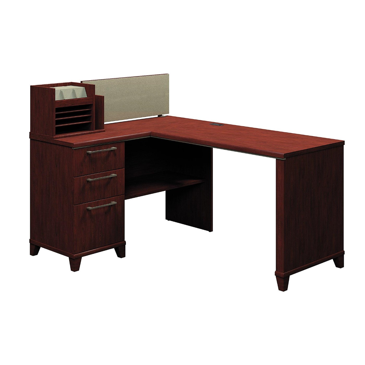<font color=#c60><b>BUSH BUSINESS FURNITURE ENTERPRISE 60W X 47D CORNER DESK. FREE SHIPPING</font></b>