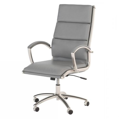 BUSH BUSINESS FURNITURE MODELO HIGH BACK LEATHER EXECUTIVE OFFICE CHAIR #EH-CH1701LGL-03. FREE SHIPPING: - <font color=red><b>OUT OF STOCK</b></font>