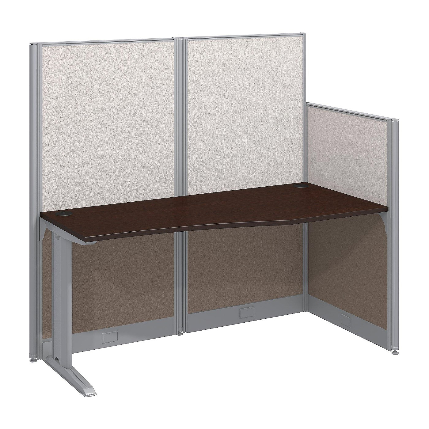 <font color=#c60><b>BUSH BUSINESS FURNITURE OFFICE IN AN HOUR 65W X 33D CUBICLE WORKSTATION. FREE SHIPPING</font></b>