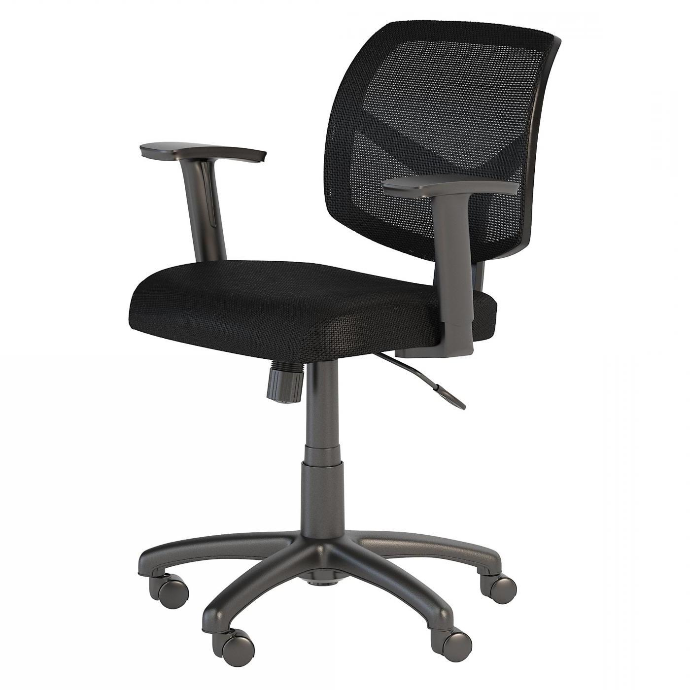 </b></font><b>BUSH BUSINESS FURNITURE PETITE MESH BACK OFFICE CHAIR. FREE SHIPPING</font>. </b></font></b>