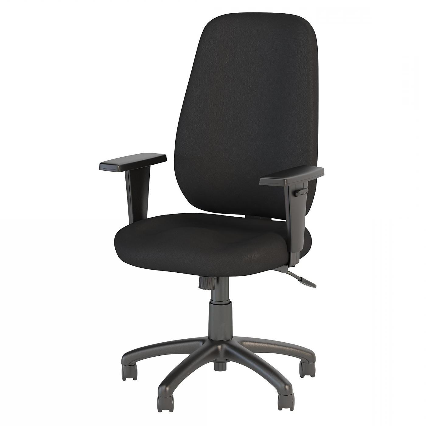 BUSH BUSINESS FURNITURE PROSPER HIGH BACK TASK CHAIR. FREE SHIPPING.