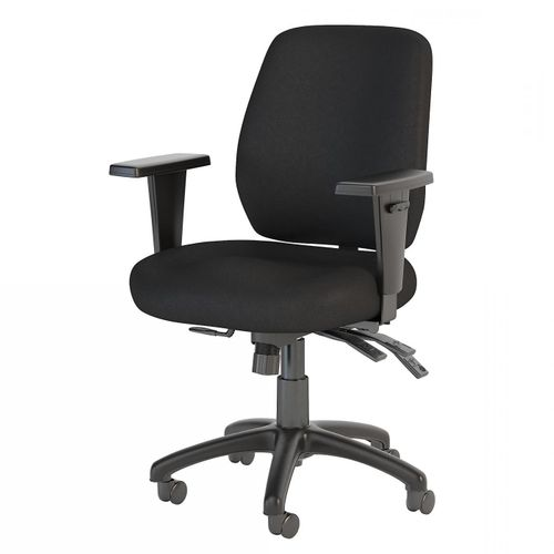 BUSH BUSINESS FURNITURE PROSPER MID BACK MULTIFUNCTION OFFICE CHAIR. FREE SHIPPING.