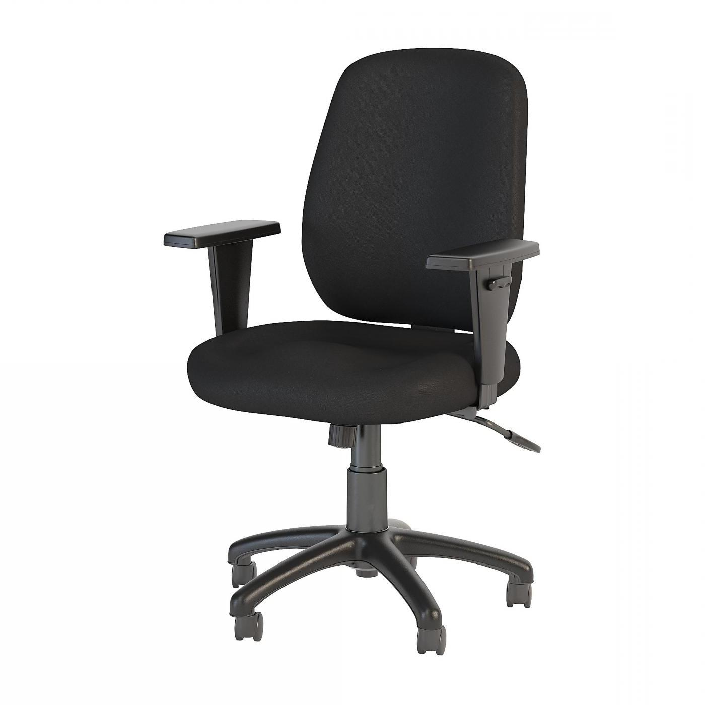 BUSH BUSINESS FURNITURE PROSPER MID BACK TASK CHAIR. FREE SHIPPING.  SALE DEDUCT 10% MORE ENTER '10percent' IN COUPON CODE BOX WHILE CHECKING OUT.