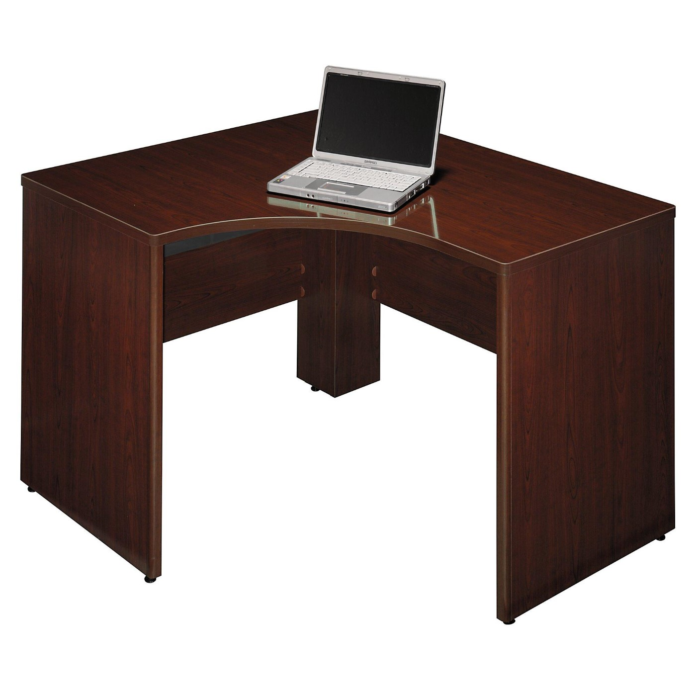 <font color=#c60><b>BUSH BUSINESS FURNITURE QUANTUM 48W X 42D LEFT HANDED CORNER DESK. FREE SHIPPING</font></b>
