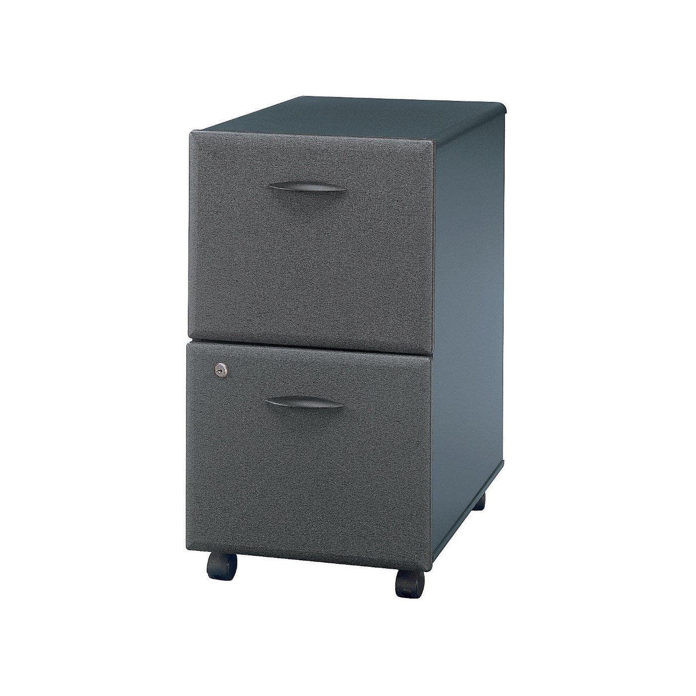 <font color=#c60><b>BUSH BUSINESS FURNITURE SERIES A 2 DRAWER MOBILE FILE CABINET. FREE SHIPPING</font></b>