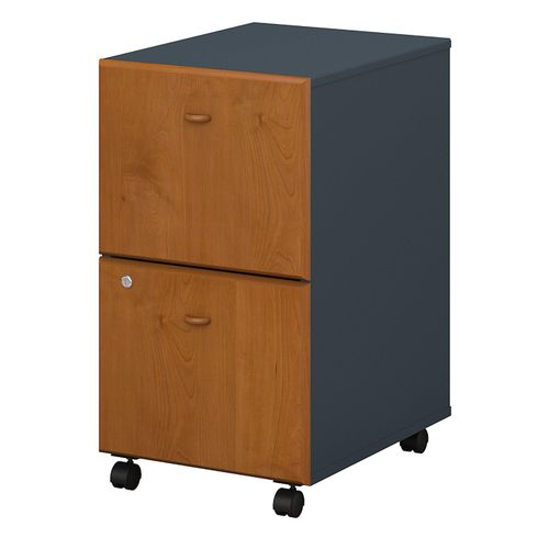 BUSH BUSINESS FURNITURE SERIES A 2 DRAWER MOBILE FILE CABINET. FREE SHIPPING  VIDEO BELOW. - <font color=red><b>OUT OF STOCK</b></font>