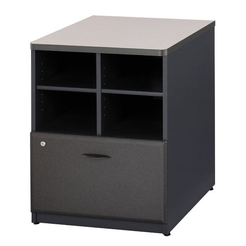 BUSH BUSINESS FURNITURE SERIES A 24W STORAGE CABINET. FREE SHIPPING. - <font color=red><b>OUT OF STOCK</b></font>