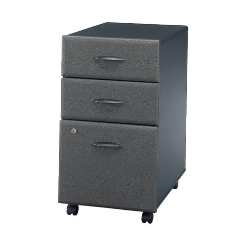BUSH BUSINESS FURNITURE SERIES A 3 DRAWER MOBILE FILE CABINET. FREE SHIPPING.
