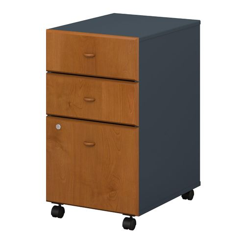 BUSH BUSINESS FURNITURE SERIES A 3 DRAWER MOBILE FILE CABINET. FREE SHIPPING  VIDEO BELOW. - <font color=red><b>OUT OF STOCK</b></font>