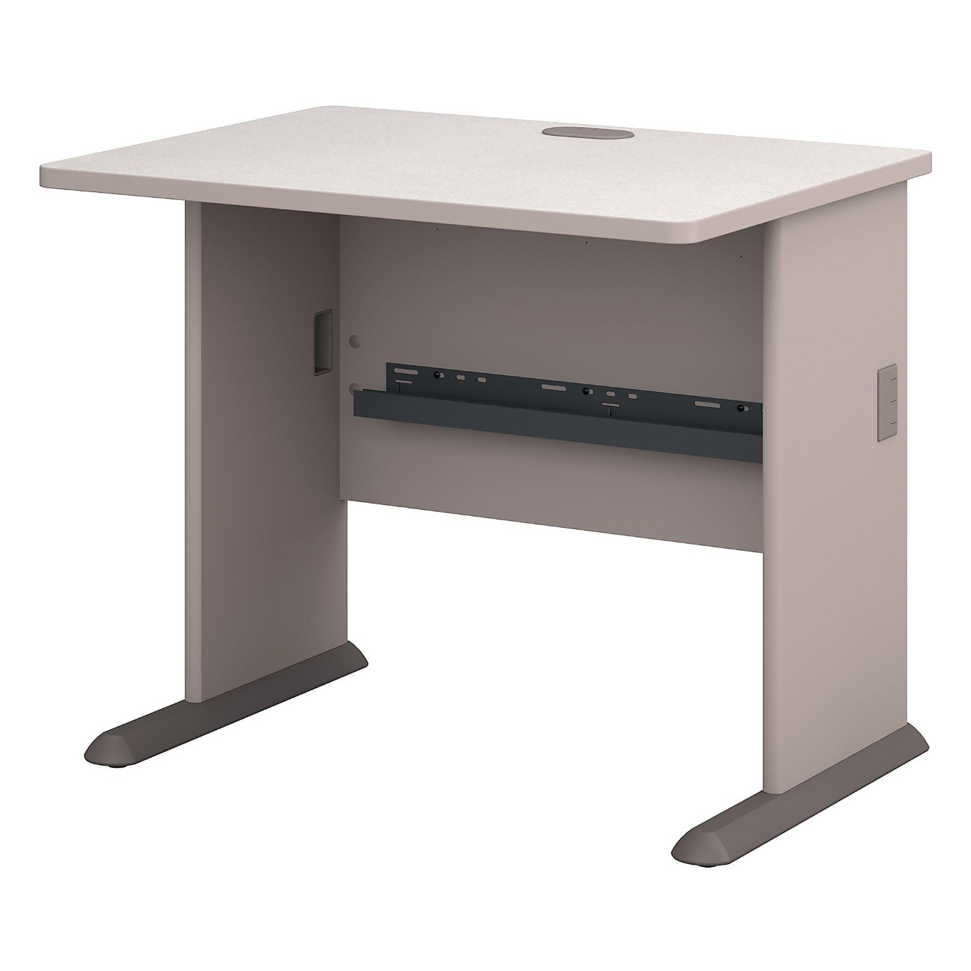 BUSH BUSINESS FURNITURE SERIES A 36W DESK. FREE SHIPPING  VIDEO BELOW.