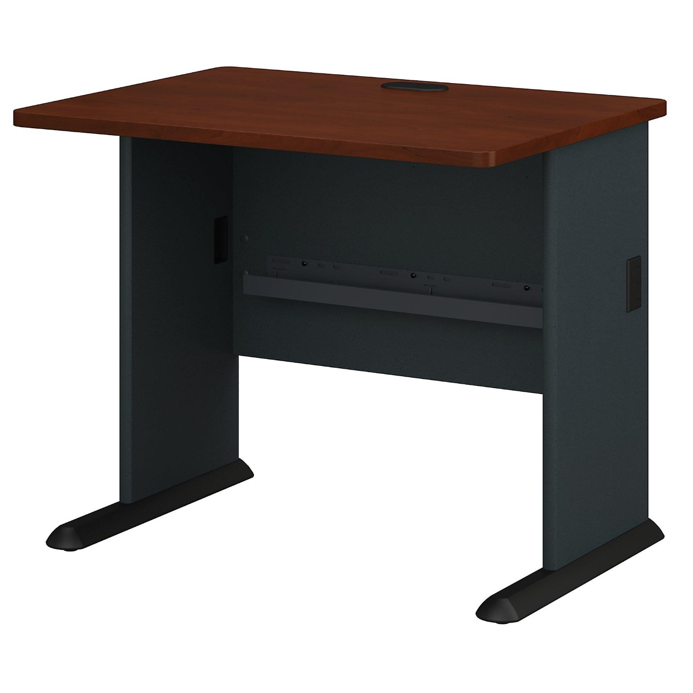 BUSH BUSINESS FURNITURE SERIES A 36W DESK. FREE SHIPPING.