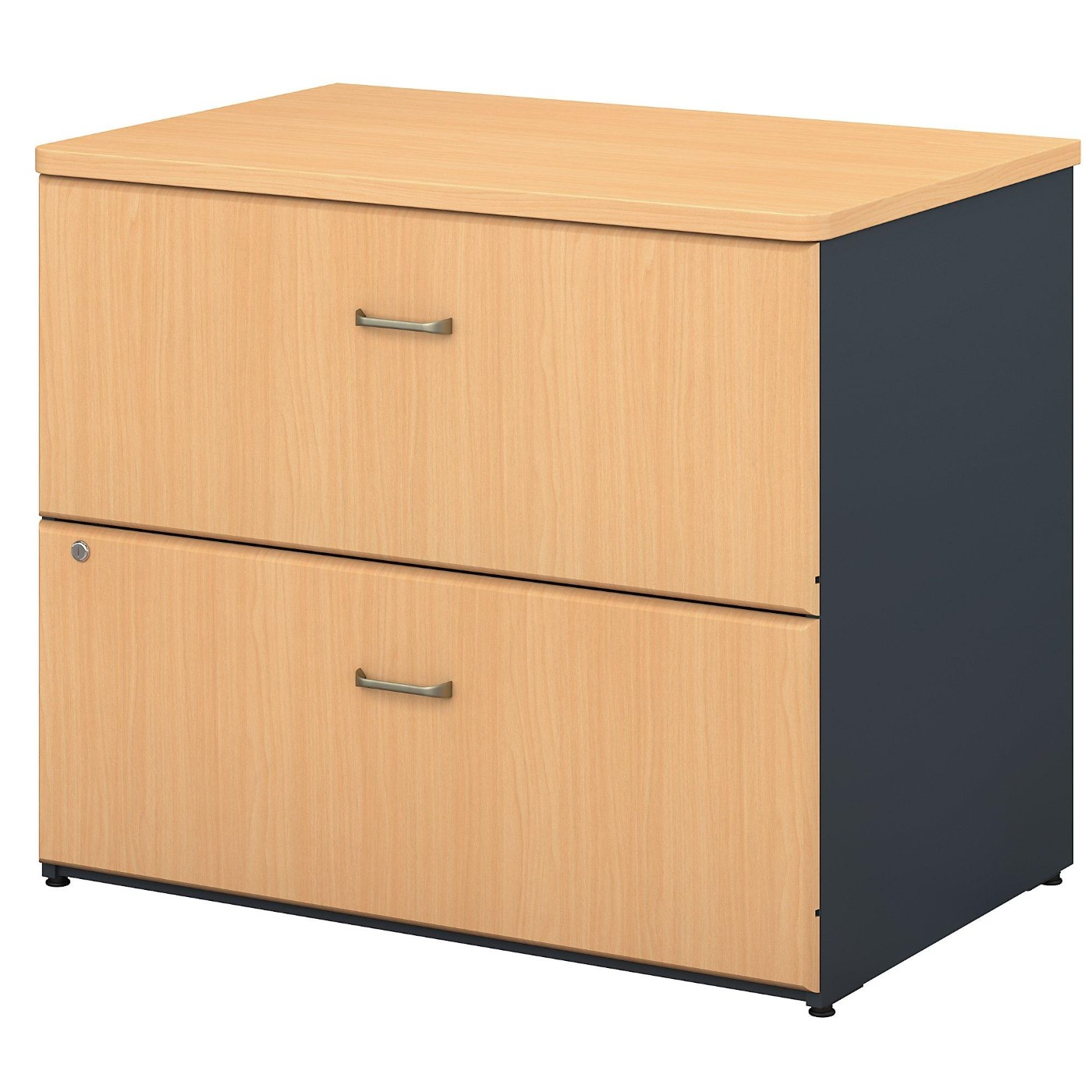 <font color=#c60><b>BUSH BUSINESS FURNITURE SERIES A 36W LATERAL FILE CABINET. FREE SHIPPING</font></b>