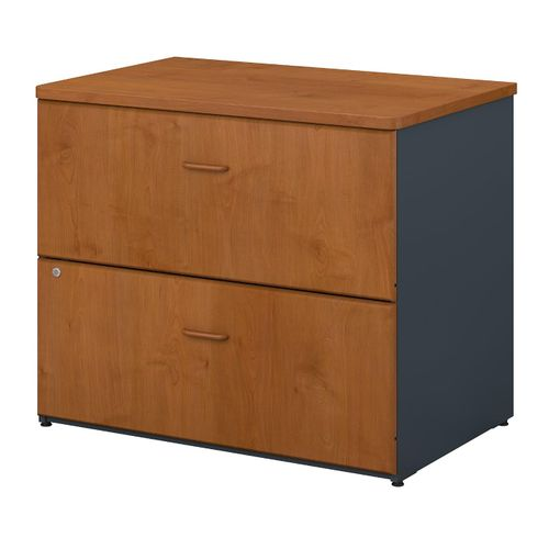 BUSH BUSINESS FURNITURE SERIES A 36W LATERAL FILE CABINET. FREE SHIPPING  VIDEO BELOW. - <font color=red><b>OUT OF STOCK</b></font>