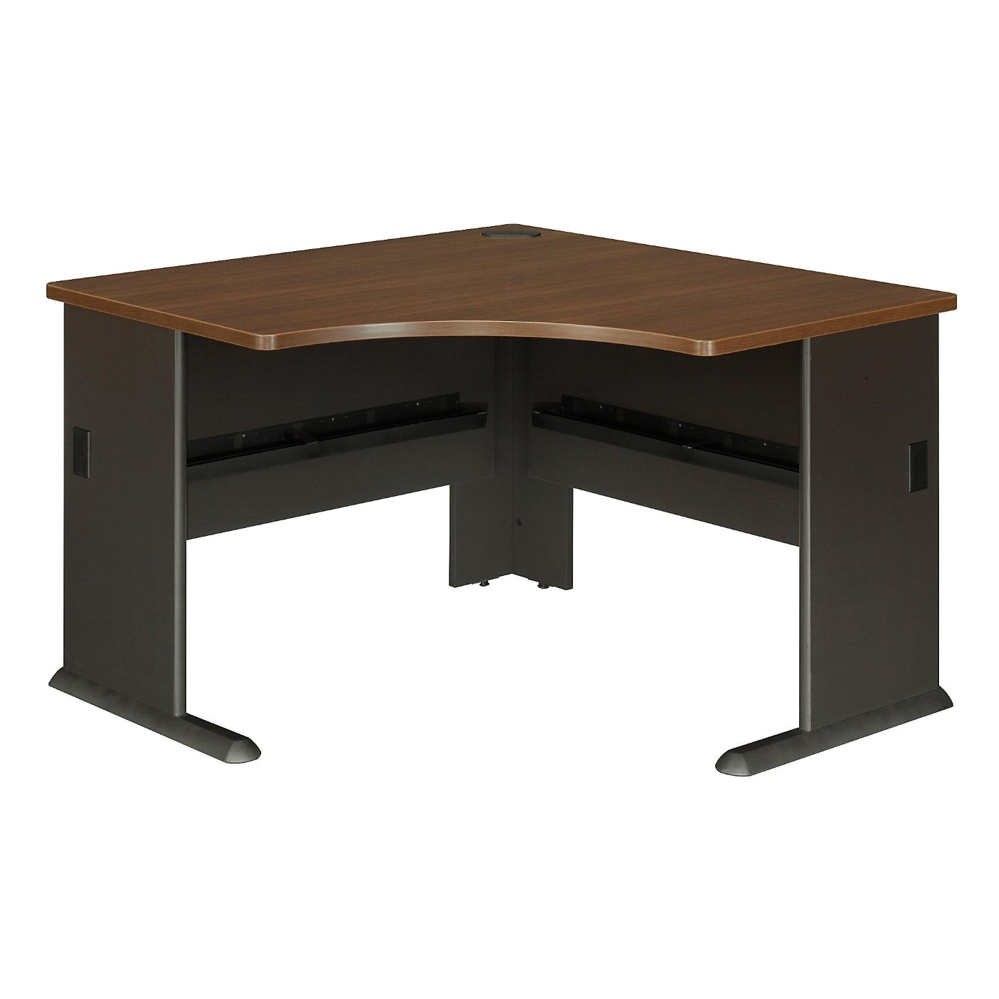 <font color=#c60><b>BUSH BUSINESS FURNITURE SERIES A 48W CORNER DESK. FREE SHIPPING</font></b>