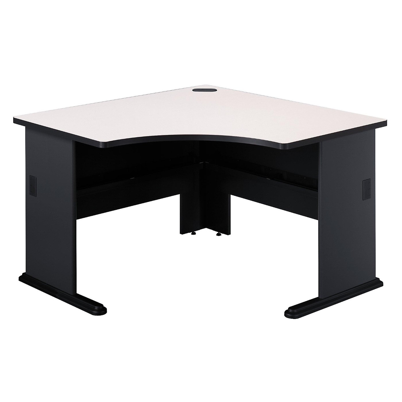 BUSH BUSINESS FURNITURE SERIES A 48W CORNER DESK. FREE SHIPPING.