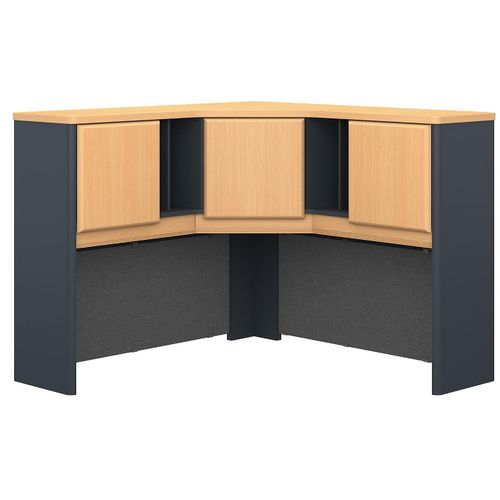 BUSH BUSINESS FURNITURE SERIES A 48W CORNER HUTCH. FREE SHIPPING.  SALE DEDUCT 10% MORE ENTER '10percent' IN COUPON CODE BOX WHILE CHECKING OUT.