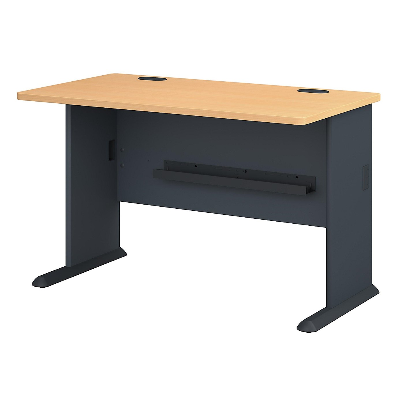 BUSH BUSINESS FURNITURE SERIES A 48W DESK. FREE SHIPPING.  SALE DEDUCT 10% MORE ENTER '10percent' IN COUPON CODE BOX WHILE CHECKING OUT.