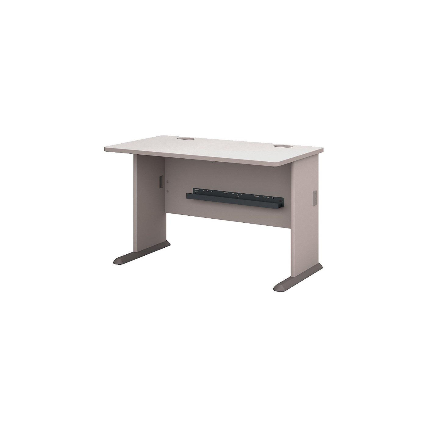 BUSH BUSINESS FURNITURE SERIES A 48W DESK. FREE SHIPPING  VIDEO BELOW.