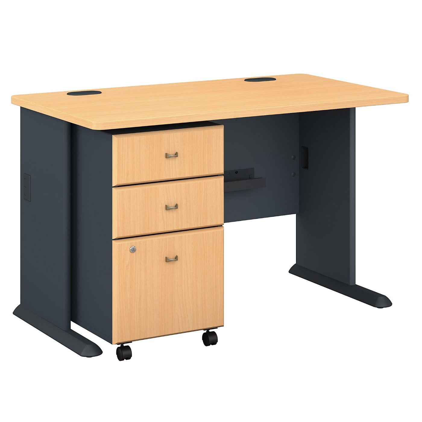 BUSH BUSINESS FURNITURE SERIES A 48W DESK WITH MOBILE FILE CABINET. FREE SHIPPING</font></b></font>&#x1F384<font color=red><b>ERGONOMICHOME HOLIDAY SALE - ENDS DEC. 17, 2019</b></font>&#x1F384