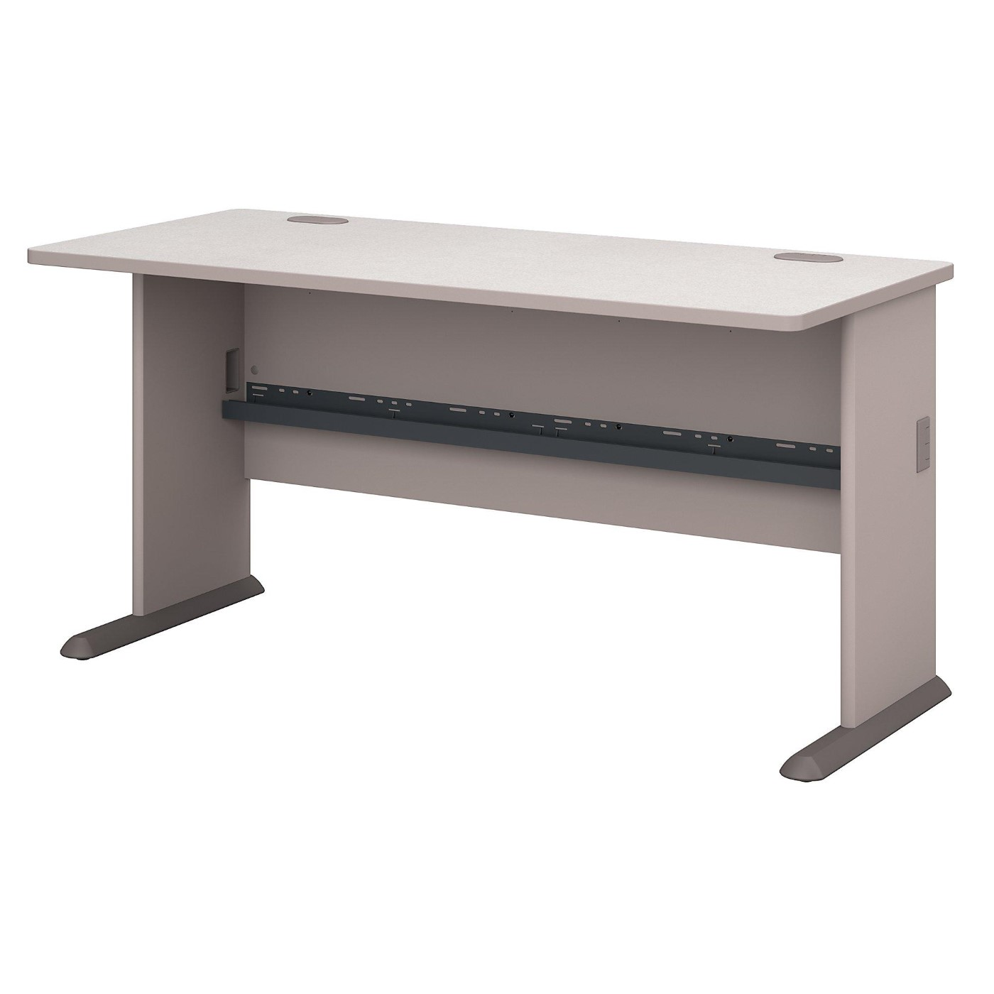 BUSH BUSINESS FURNITURE SERIES A 60W DESK. FREE SHIPPING  VIDEO BELOW.