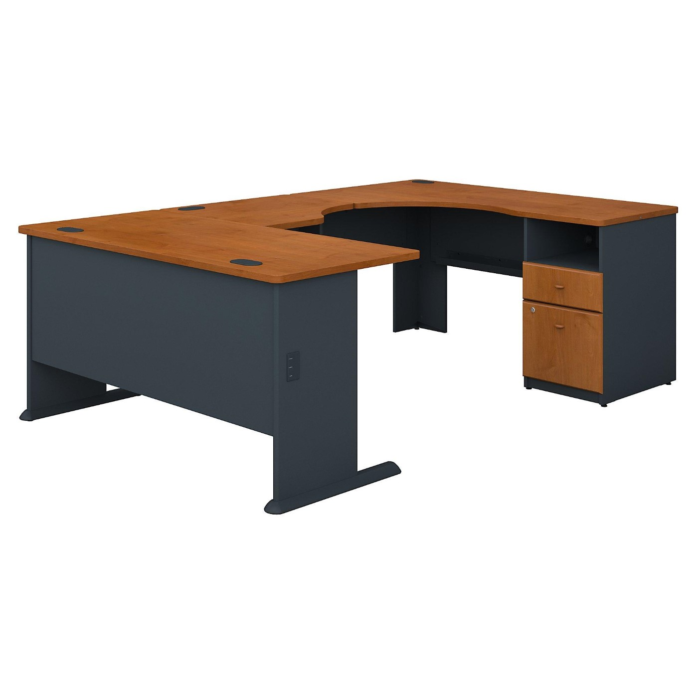 BUSH BUSINESS FURNITURE SERIES A 60W X 93D U SHAPED DESK WITH 2 DRAWER PEDESTAL. FREE SHIPPING</font></b></font>&#x1F384<font color=red><b>ERGONOMICHOME HOLIDAY SALE - ENDS DEC. 17, 2019</b></font>&#x1F384