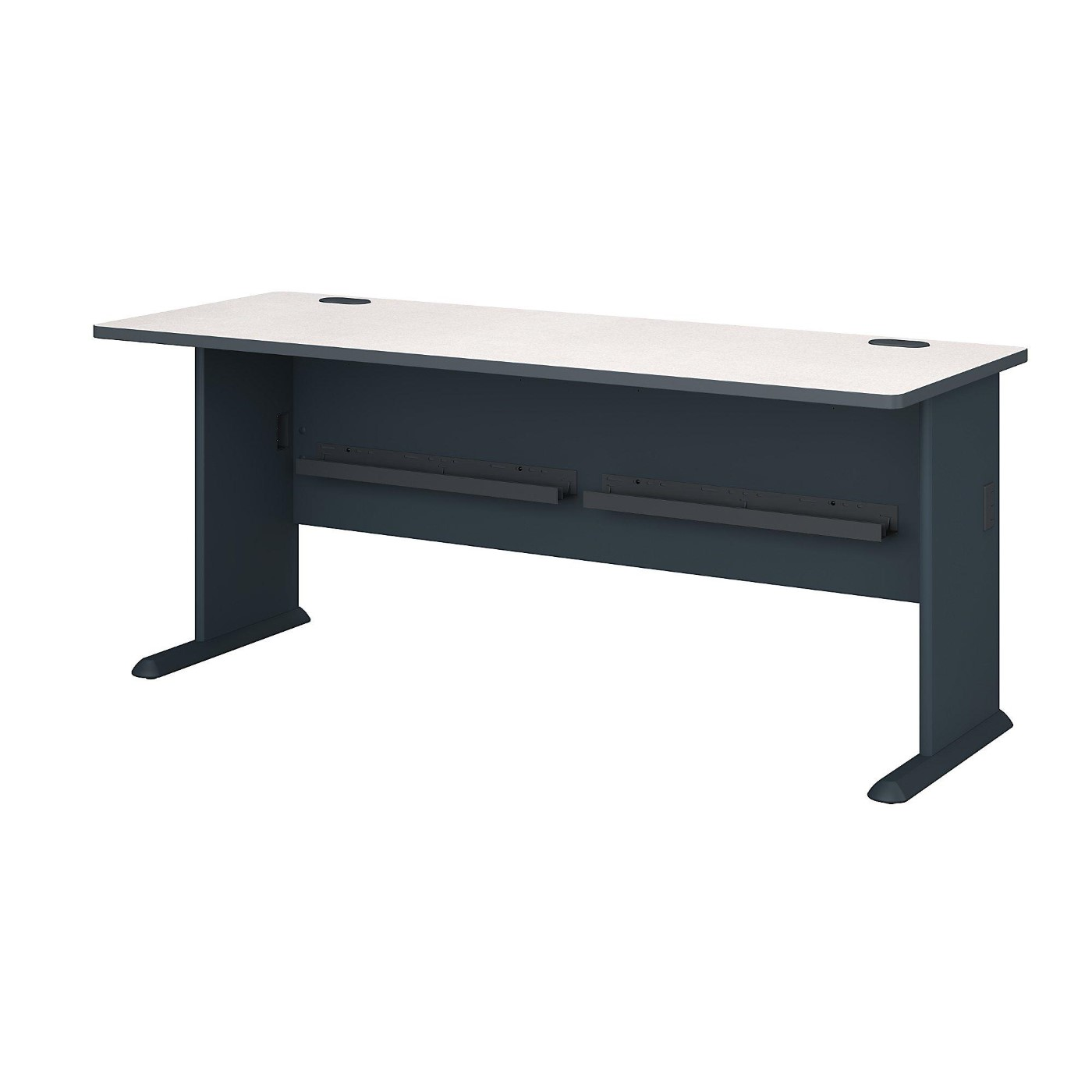 <font color=#c60><b>BUSH BUSINESS FURNITURE SERIES A 72W DESK. FREE SHIPPING</font></b></font></b>