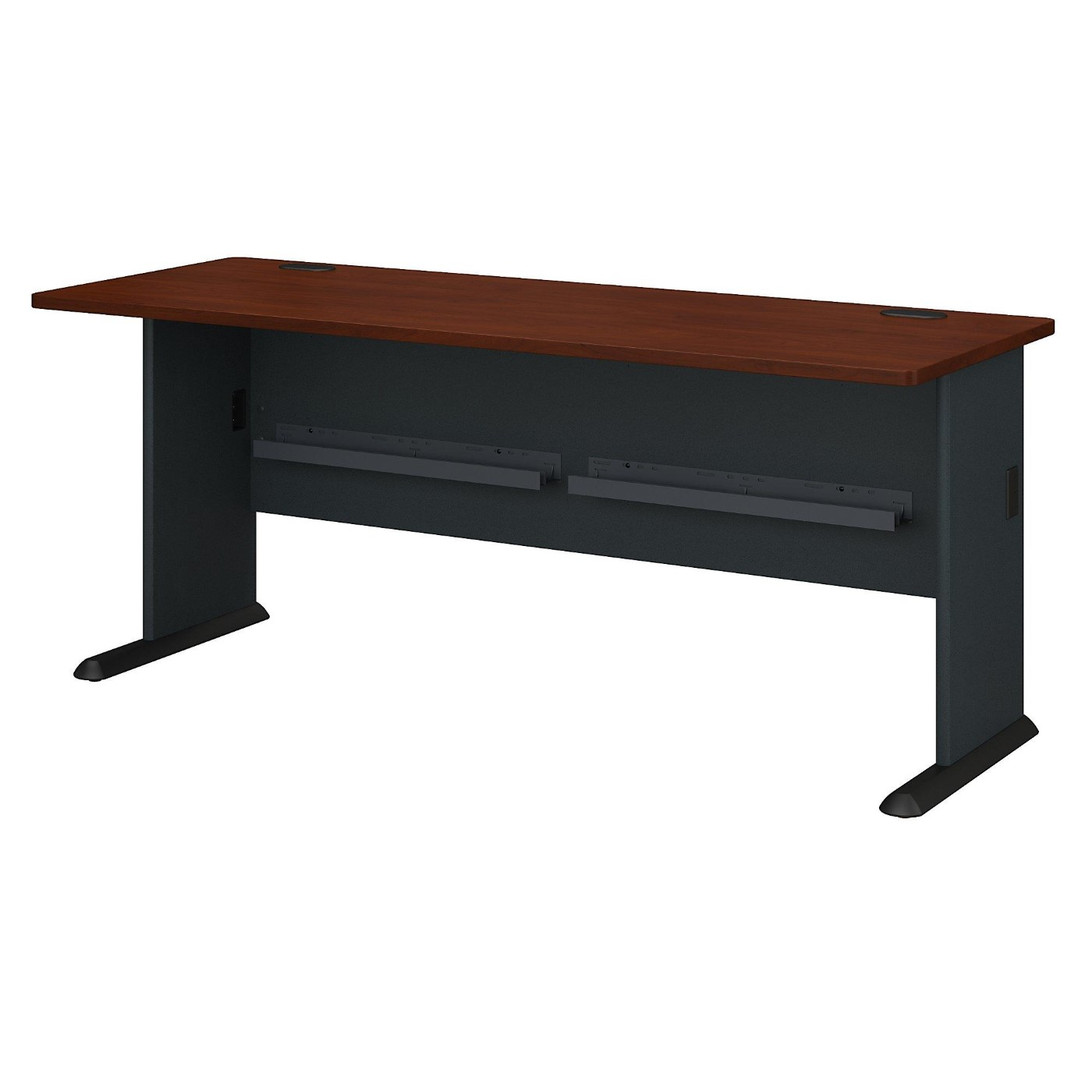 <font color=#c60><b>BUSH BUSINESS FURNITURE SERIES A 72W DESK. FREE SHIPPING</font></b>