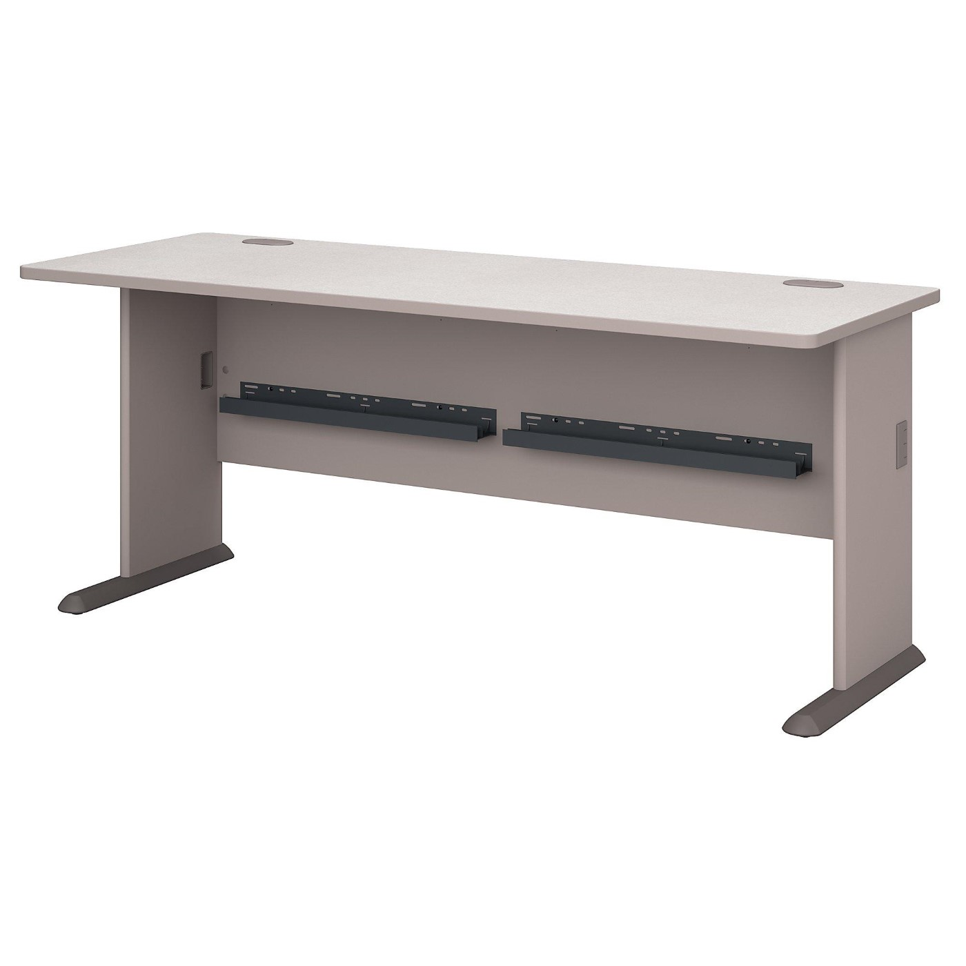 BUSH BUSINESS FURNITURE SERIES A 72W DESK. FREE SHIPPING.