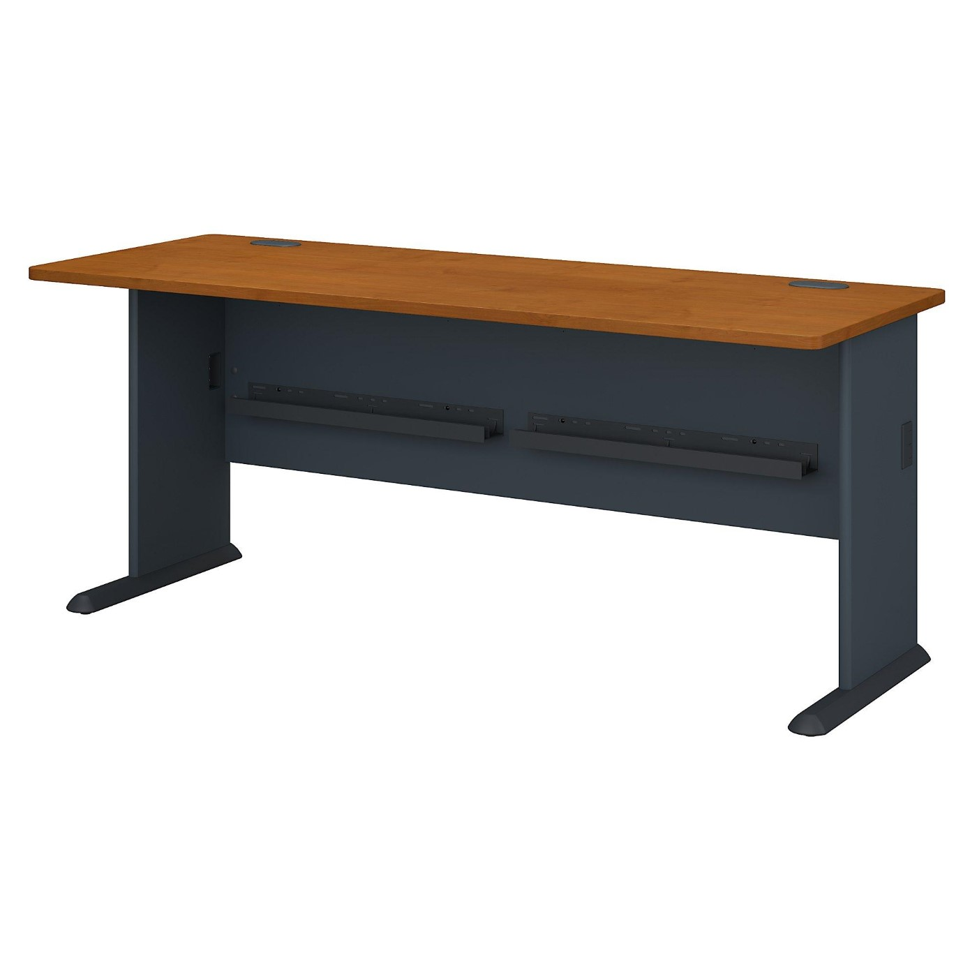 BUSH BUSINESS FURNITURE SERIES A 72W DESK. FREE SHIPPING.  SALE DEDUCT 10% MORE ENTER '10percent' IN COUPON CODE BOX WHILE CHECKING OUT.