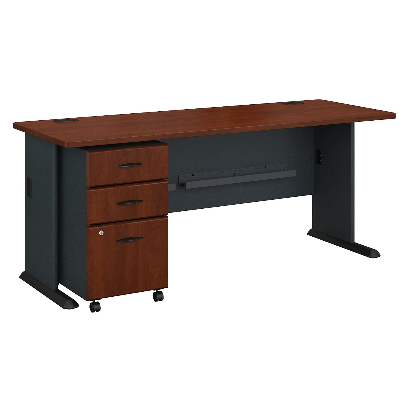 BUSH BUSINESS FURNITURE SERIES A 72W DESK WITH MOBILE FILE CABINET. FREE SHIPPING</font></b></font>&#x1F384<font color=red><b>ERGONOMICHOME HOLIDAY SALE - ENDS DEC. 17, 2019</b></font>&#x1F384