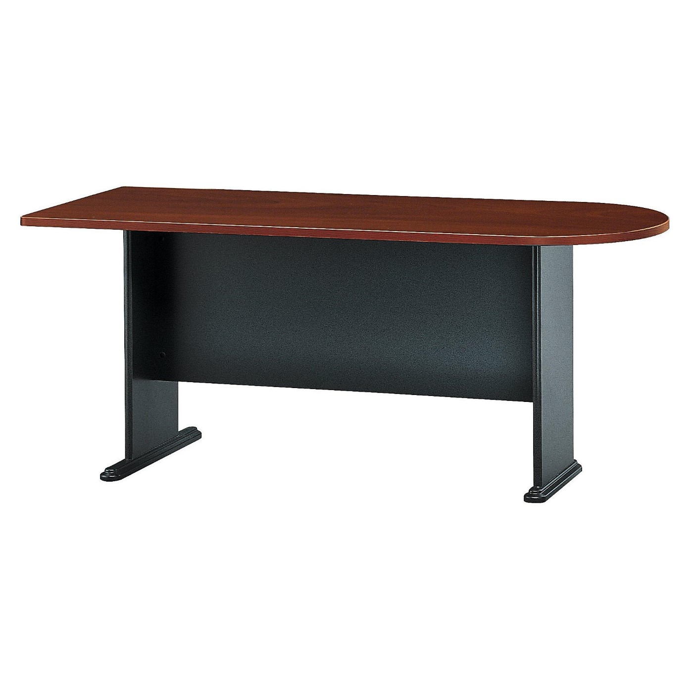 <font color=#c60><b>BUSH BUSINESS FURNITURE SERIES A 72W UNIVERSAL FREESTANDING PENINSULA. FREE SHIPPING</font></b>