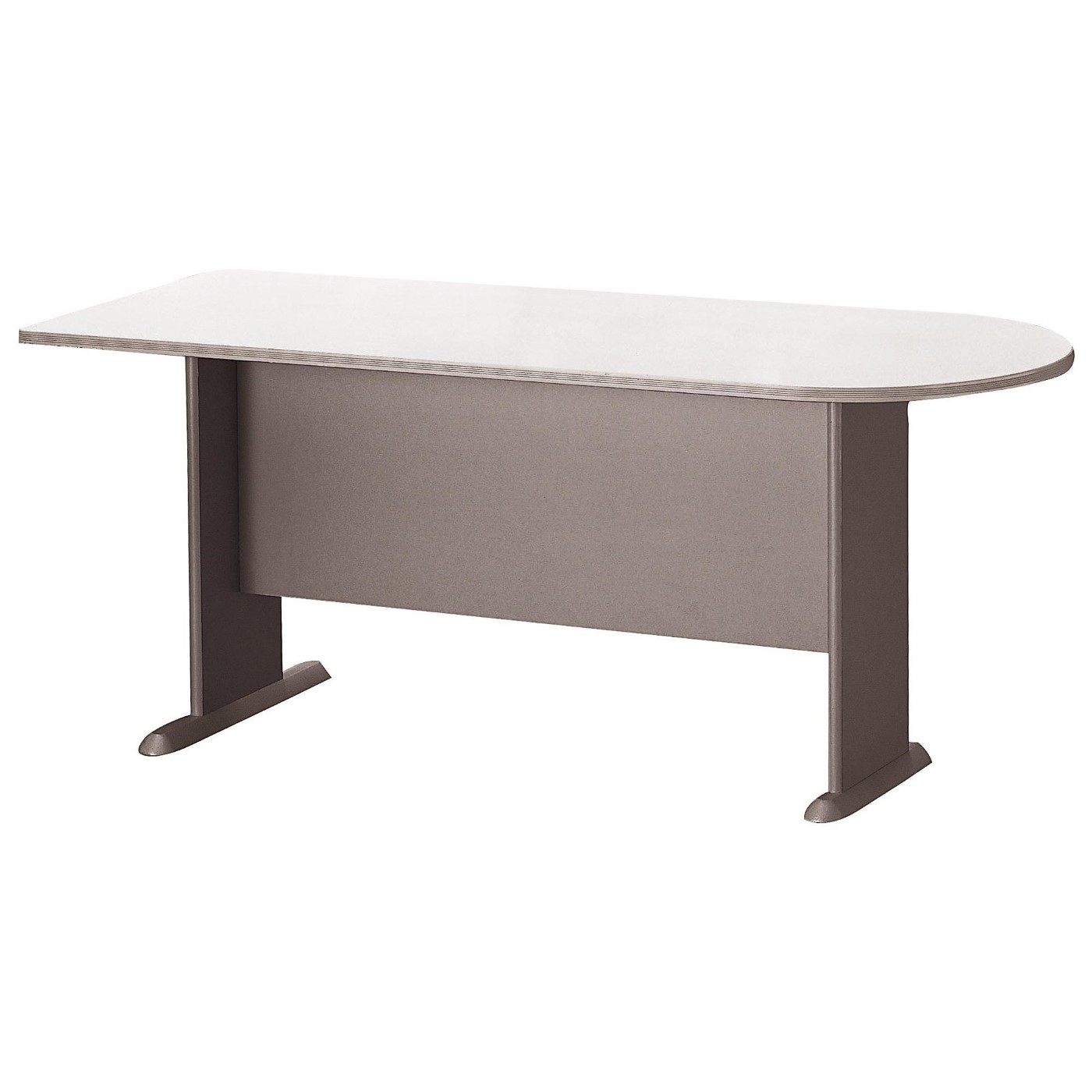 BUSH BUSINESS FURNITURE SERIES A 72W UNIVERSAL FREESTANDING PENINSULA. FREE SHIPPING.