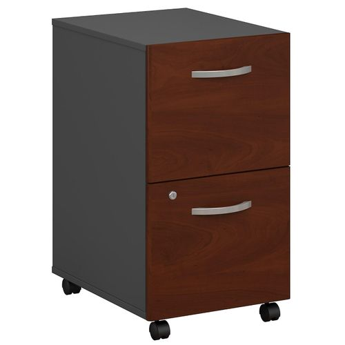 BUSH BUSINESS FURNITURE SERIES C 2 DRAWER MOBILE FILE CABINET. FREE SHIPPING.  SALE DEDUCT 10% MORE ENTER '10percent' IN COUPON CODE BOX WHILE CHECKING OUT.