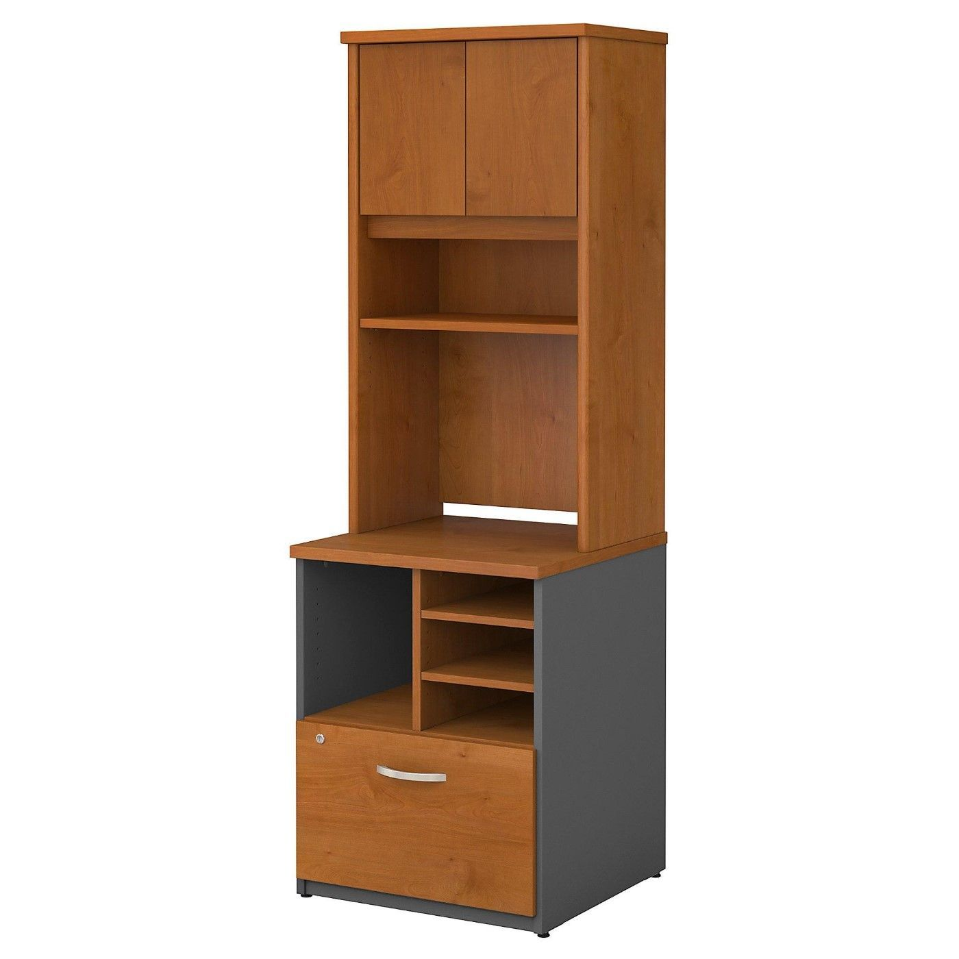 <font color=#c60><b>BUSH BUSINESS FURNITURE SERIES C 24W PILER FILER CABINET WITH HUTCH. FREE SHIPPING</font></b>
