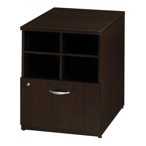 BUSH BUSINESS FURNITURE SERIES C 24W STORAGE CABINET. FREE SHIPPING. - <font color=red><b>OUT OF STOCK</b></font>