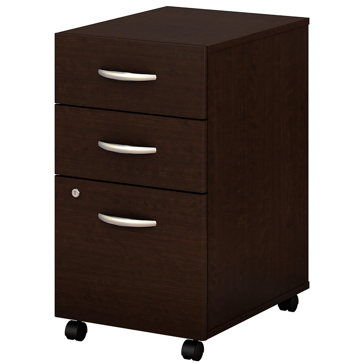 <font color=#c60><b>BUSH BUSINESS FURNITURE SERIES C 3 DRAWER MOBILE FILE CABINET. FREE SHIPPING</font></b>