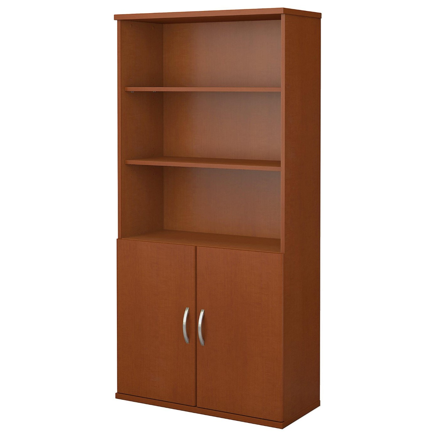 <font color=#c60><b>BUSH BUSINESS FURNITURE SERIES C 36W 5 SHELF BOOKCASE WITH DOORS. FREE SHIPPING</font></b></font></b>
