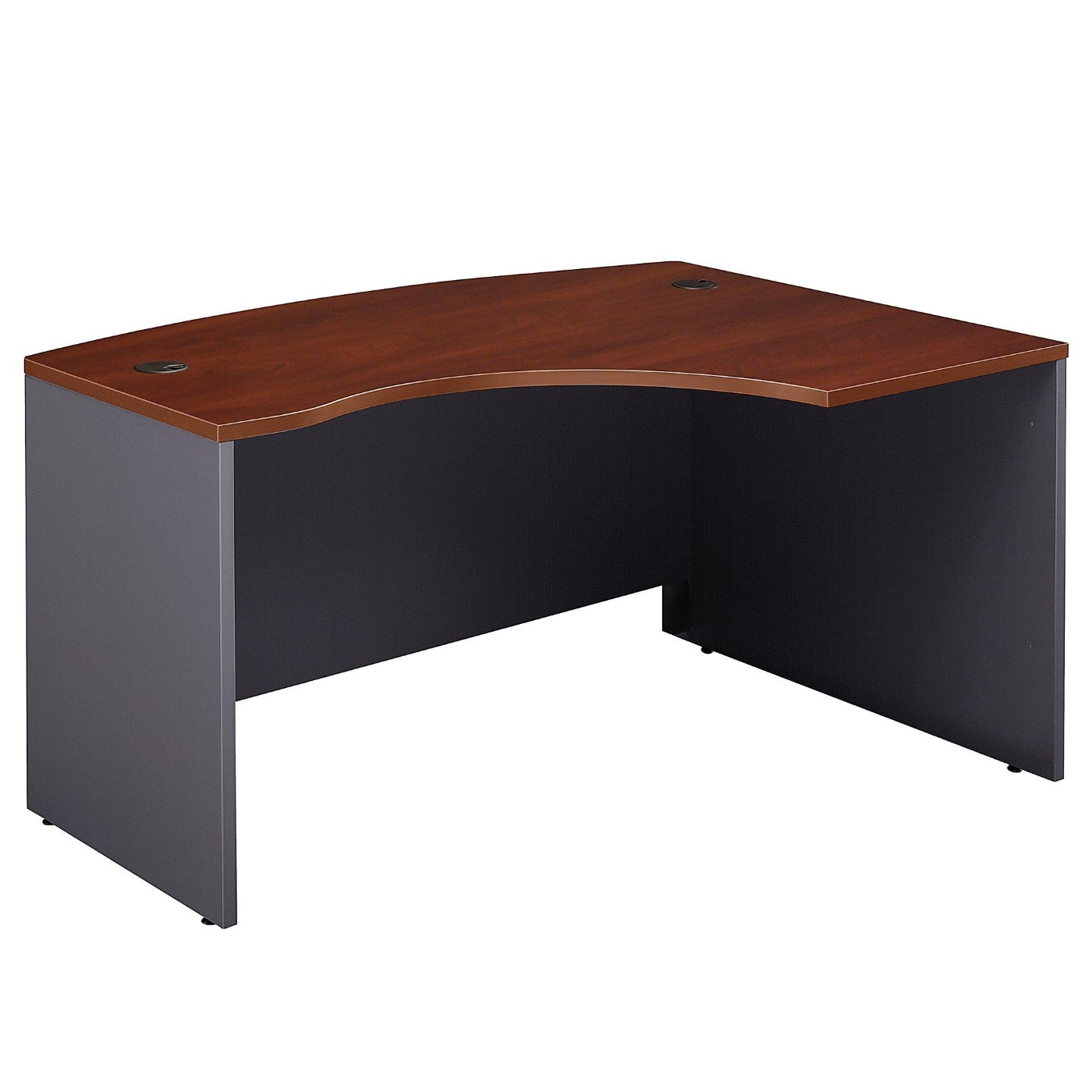 BUSH BUSINESS FURNITURE SERIES C 60W X 43D LEFT HANDED L BOW DESK. FREE SHIPPING</font></b></font>&#x1F384<font color=red><b>ERGONOMICHOME HOLIDAY SALE - ENDS DEC. 17, 2019</b></font>&#x1F384